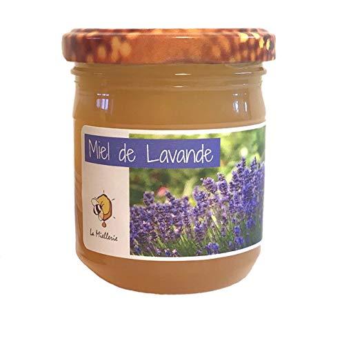 Miel de lavande du luberon - Produit en France - Direct apiculteur, récolté en Provence, issu d'une apiculture 100% naturelle sans traitement