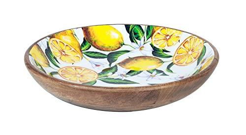 G&S Grande Assiette Provence : Thème Citron. D 30 cm.