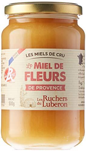 Les Ruchers du Luberon Miel de Fleurs de Provence IGP/Label Rouge 500 g