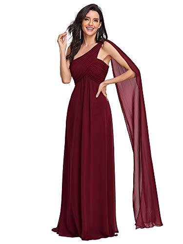 Ever-Pretty Robe de Soirée Longue Seule-épaule Femme 09816