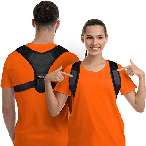 Correcteur de posture pour homme et femme, soutien du haut du dos pour la clavicule, redresseur du dos réglable et soulagement de la douleur du cou, du dos et des épaules, (universel)