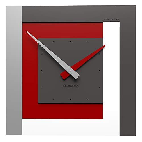 CalleaDesign 40 cm Horloge Murale Horloge40 Rubis