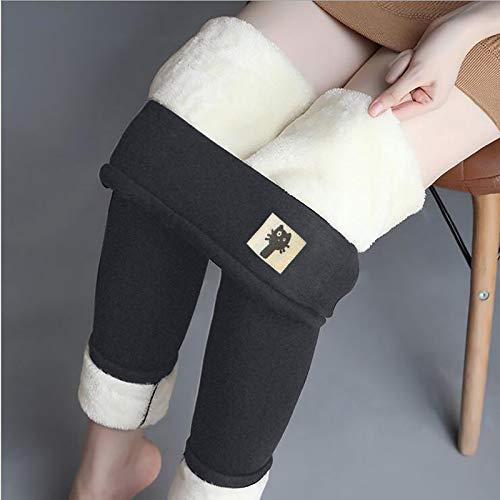 MUMEOMU d'hiver Leggings pour Femmes Longs Legging Chaud pour Femme Hiver Taille Haute Pantalons Impression de Chat Mignon Automne Hiver Thermique Collant Extensible Pantalon Chaud