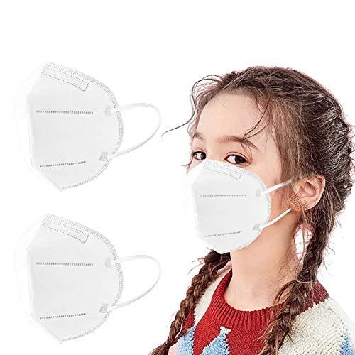 AZEWO 20/50/100PCS 5 Plis Enfants_Protection_Livraison Rapide_Disposable (100pc)