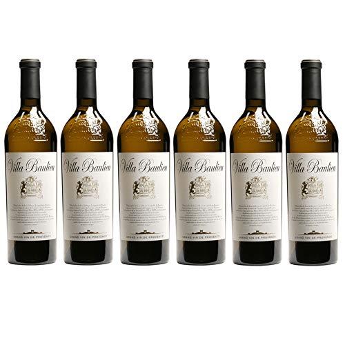 Villa Baulieu 2014, appellation coteaux d aix en provence, vin blanc, lot de 6 bouteilles