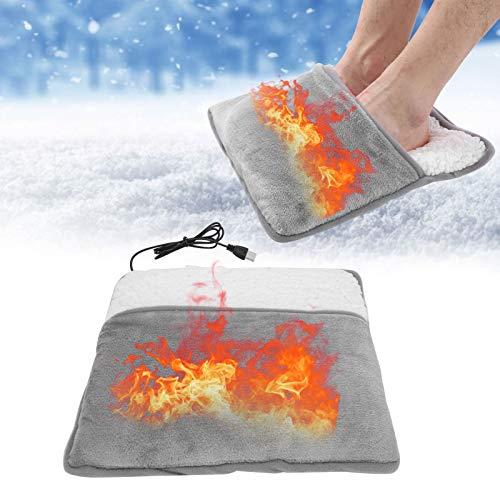 Coussin chauffant pour les pieds, coussin chauffant électrique pour les pieds, coussin chauffant pour les pieds USB