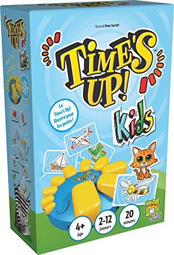 Time's Up Kids - Grand format - Asmodee - Jeu de société - Jeu enfant - Jeu d'ambiance - Jeu de cartes