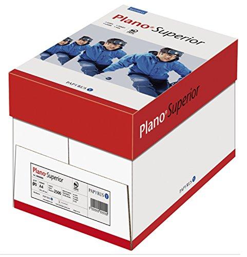 Papyrus Papier multifonction Plano® Superior, DIN A4, 90g/m², blanc, 500feuilles, lot de 5