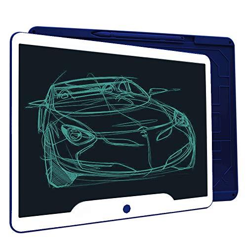Richgv®Tablette d'écriture LCD 15 Pouces, Tableau Magique Planche à Dessin, Jeux de Société pour Cadeau Enfant, Tablette Note à l'école et au Bureau…