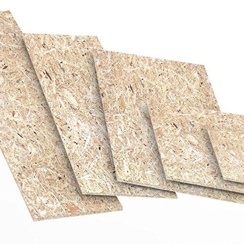 15mm OSB/3 Panneau de particules orientées 200 x 700 mm résistant à l'humidité sur la norme EN 300 Panneaux d'OSB pour application agencement décoration ou constructions bois Logueurs jusqu'à 2000mm