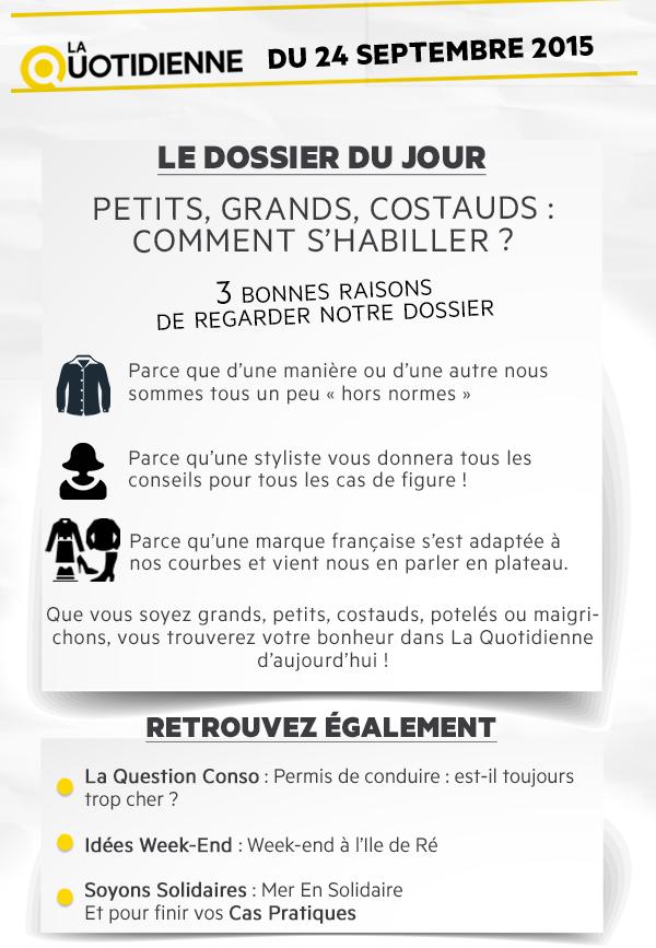 Émission La Quotidienne France 5, un sujet pour nous ...
